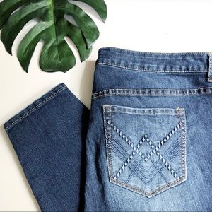 Torrid skinny zip ankle stiletto denim jeans